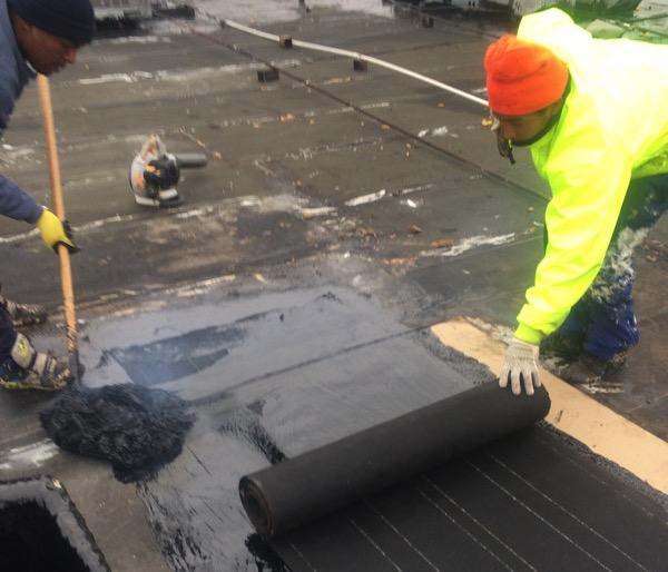 Hot Tar Roofing Contractors Dallas Texas